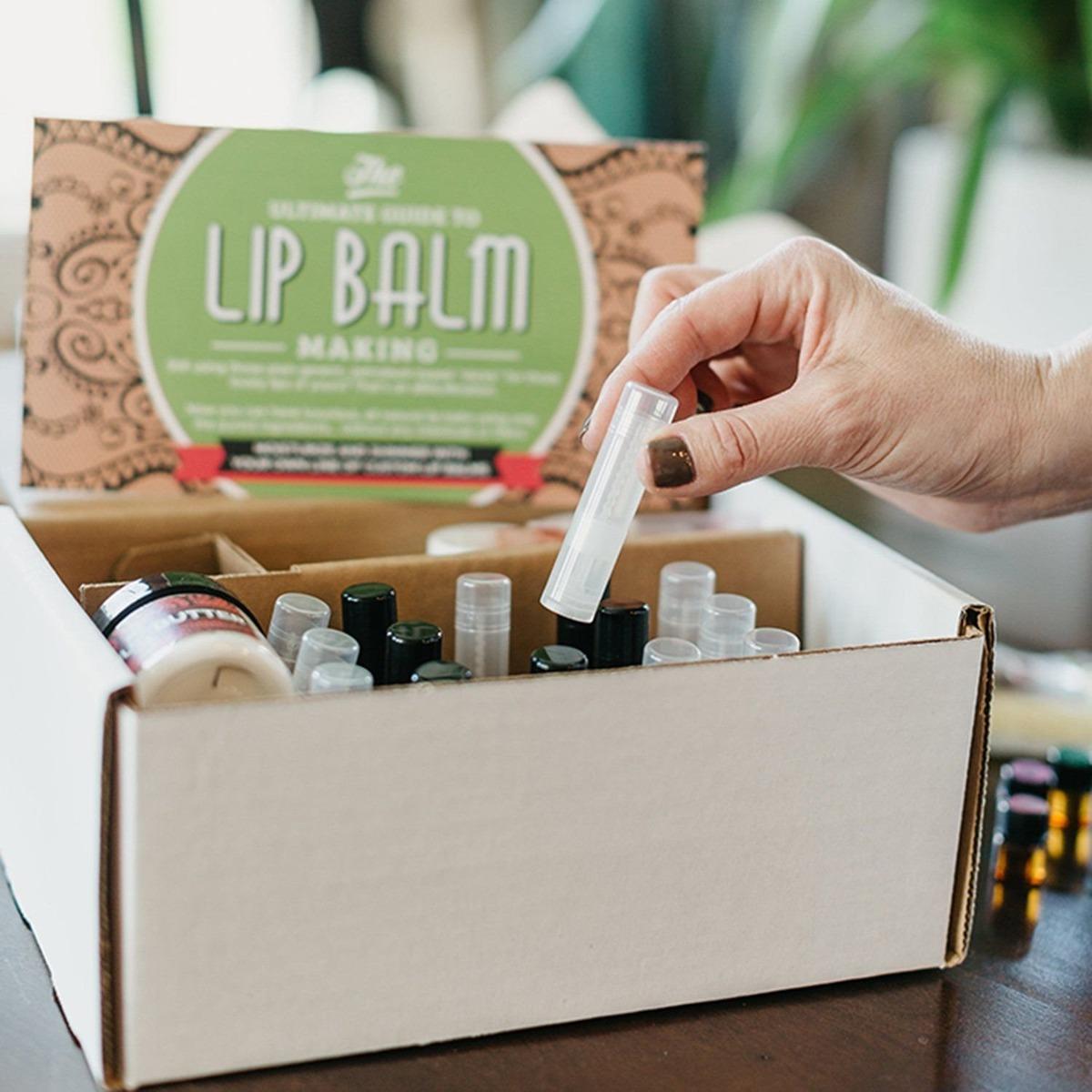 Diy Lip Balm Kit Juego De 73 Piezas Hecho En Casa Nat