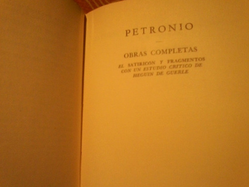 doce césares suetonio - obra completa petronio - paysandú