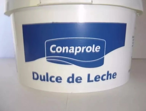doce de leite uruguaio conaprole 3kg val 29/ 09