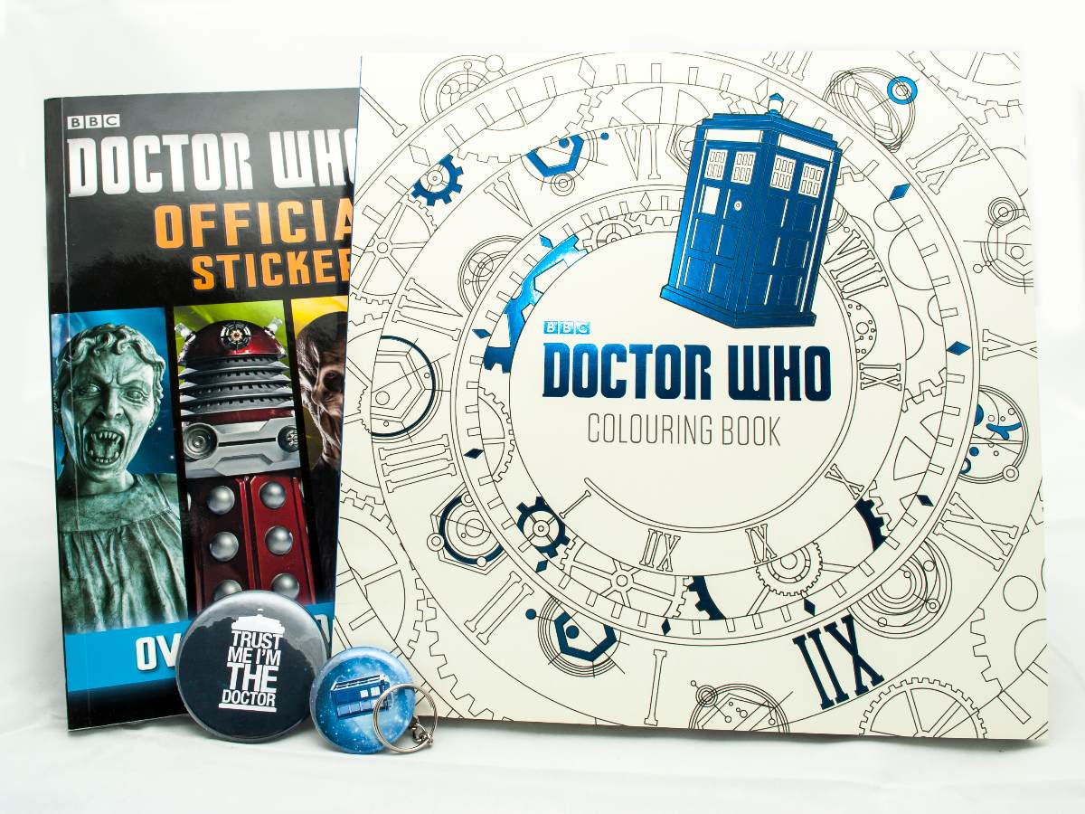Doctor Who Libro Colouring Book + Libro Stickers - $ 600,00 en ...