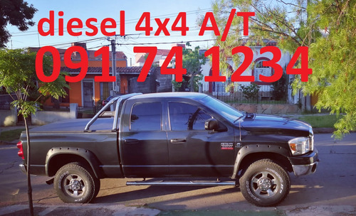 dodge ram diesel 2500 5.9 4x4 at permuta oportunidad