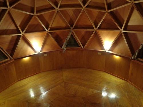 domo geodesico, casas prefabricada, casa en madera, domos
