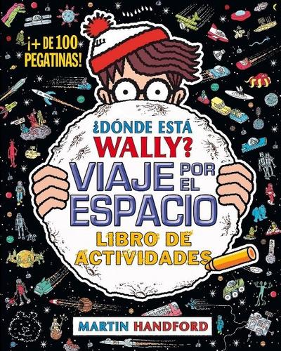 dónde está wally? viaje por el espacio de actividades