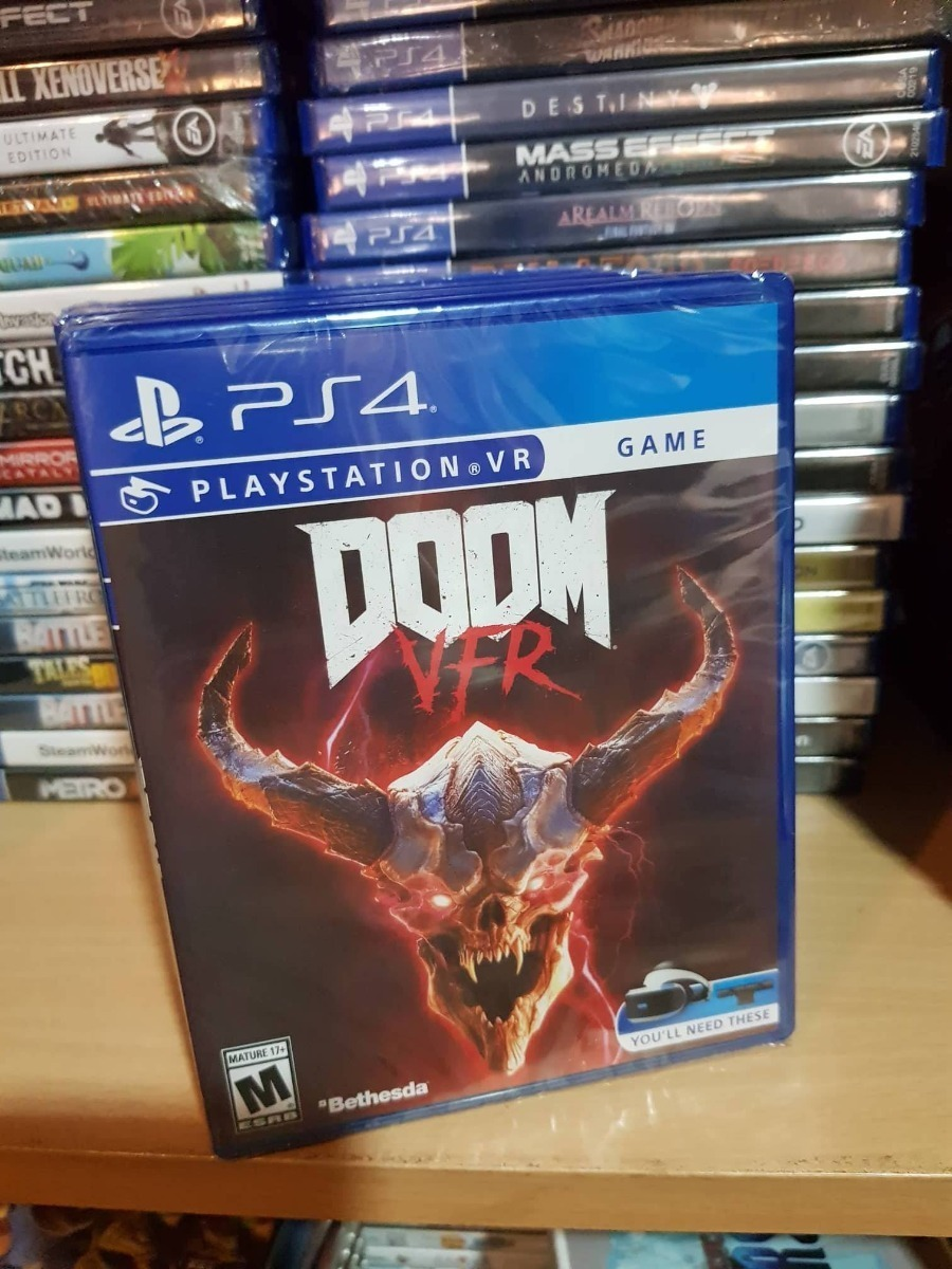 Doom Vfr Juego Para Playstation Vr 1 190 00 En Mercado Libre