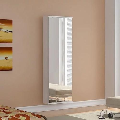 dormitorio zapatera espejo colgar blanco mobelstore