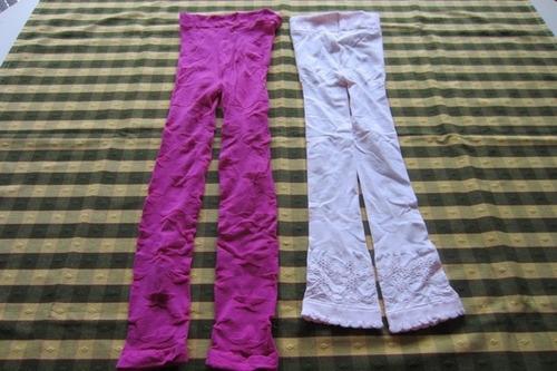 dos pares de leggings (pantymedias), marcas europeas!!!