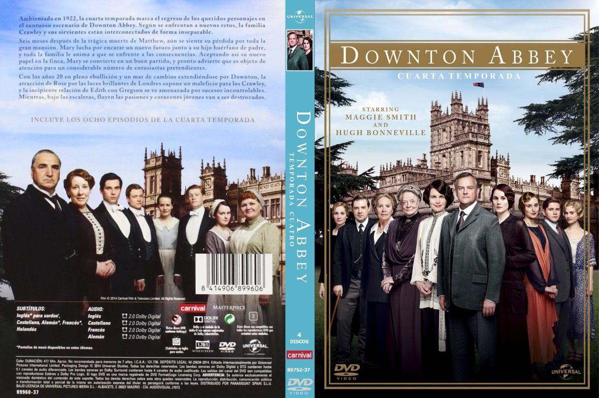 Downton Abbey - 4 Temporada 3 Dvd - $ 400,00 en Mercado Libre