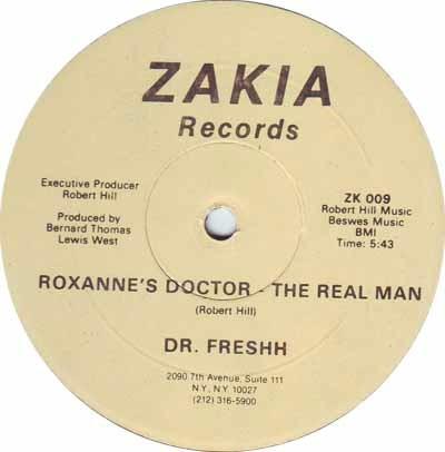 dr freshh 12 single roxannes doctor real man  importado 1985