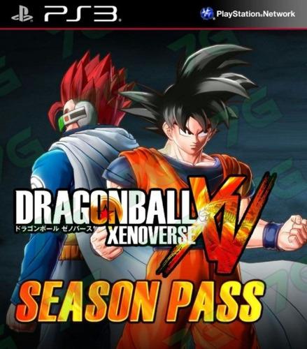 dragon ball xenoverse xv ps3 + season pass original digital
