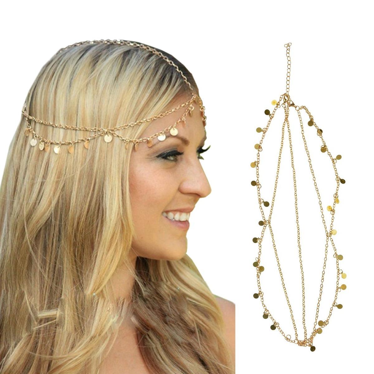 dreshow cadena para el cabello accesorios bohemios para e. Cargando zoom. 0cbf32083360