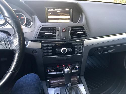 dueño mercedes benz e250 coupe hp 211  cgi 2013 aut sec imp