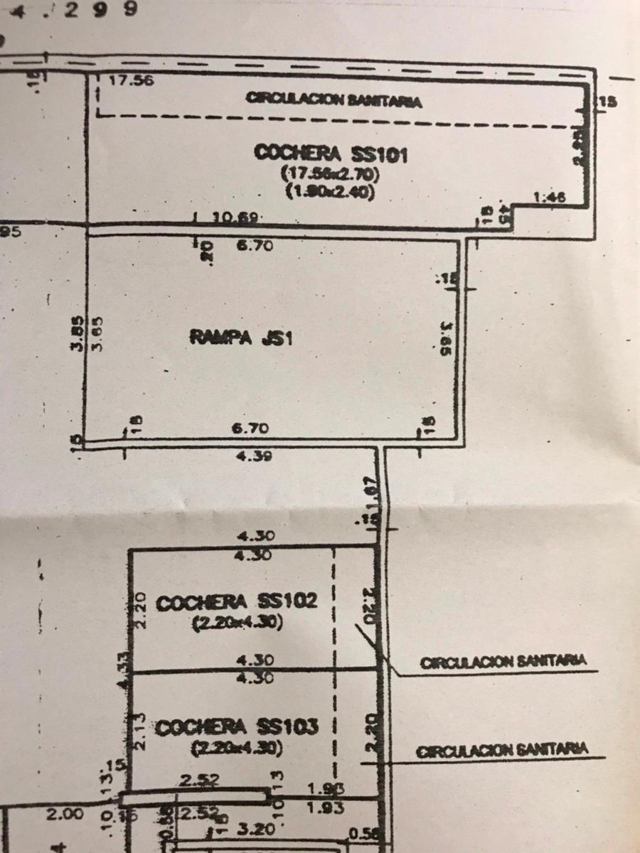 dueño vende garage doble 46 m2 en malvin edificio martinica
