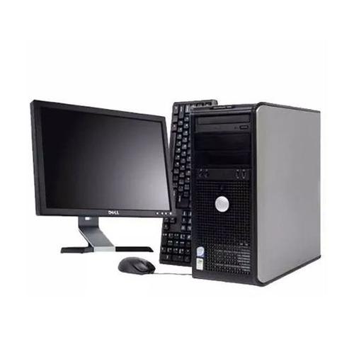 duo con monitor computadora completa core