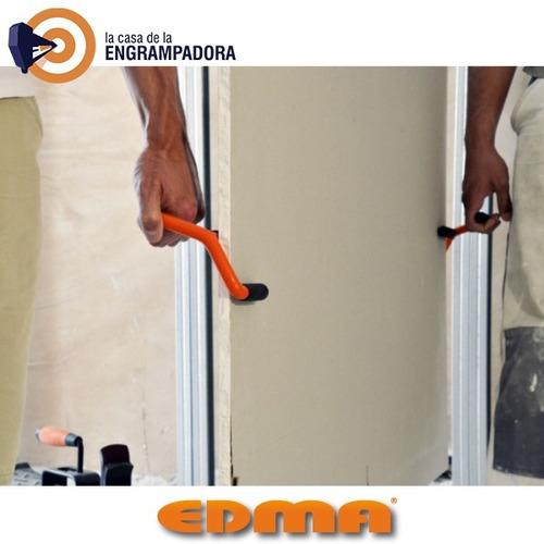 duoplac - conjunto de 2 transportadores de placas edma