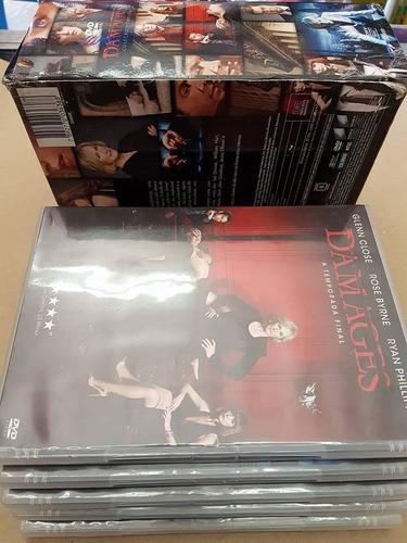 dvd box damages - a série completa - 15 discos
