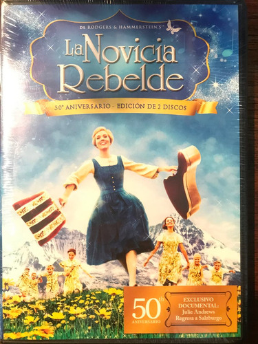 dvd la novicia rebelde / the sound of music / 2 discos