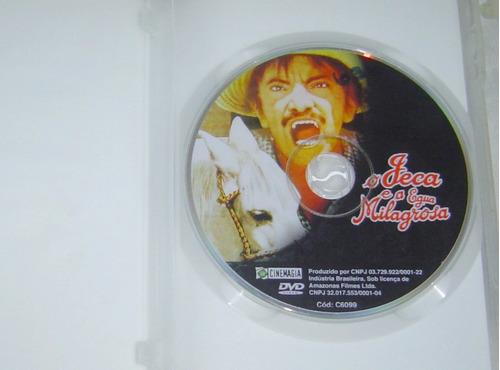 dvd mazzaropi - o jeca e a égua milagrosa - original.