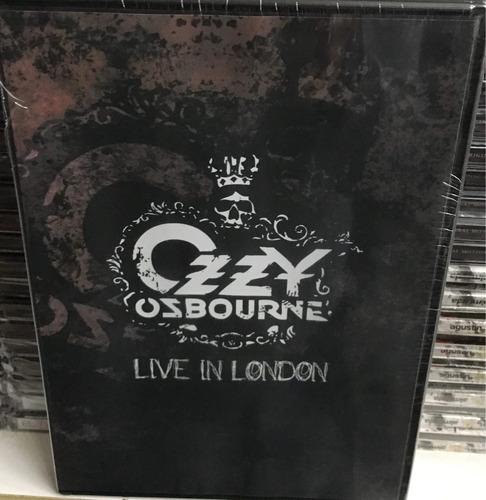 dvd ozzy ozbourne - live in london. original nuevo