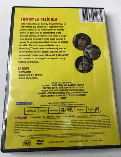 dvd tommy la pelicula la opera rock the who nuevo original