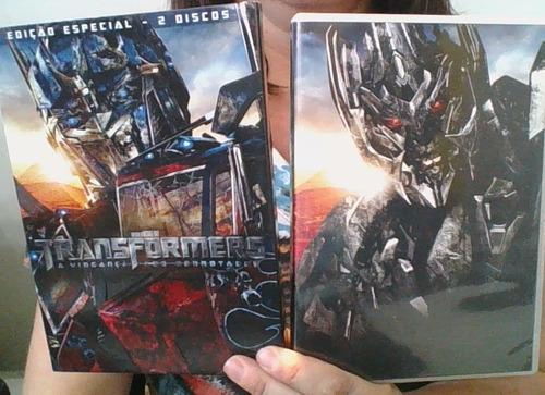 dvd transformers edição especial duplo
