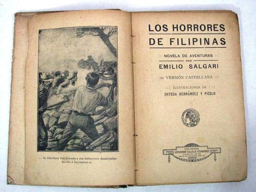 e salgari los horrores de filipinas calleja madrid c 1900