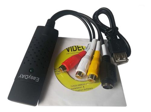 easycap usb 2.0 tv audio video vhs a dvd disco duro pc conve