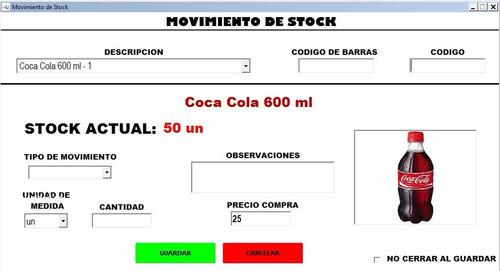 easysoft programa facturación ventas stock cajas precios