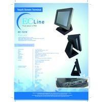 ec line terminal pos touch ec-1219 10.4'' intel atom j1900 2