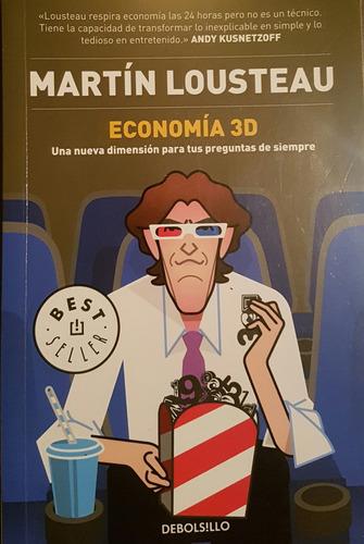 economía 3d - martín lousteau