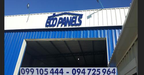 ecopanels, isopanel,paneles techo y paredes de alta densidad