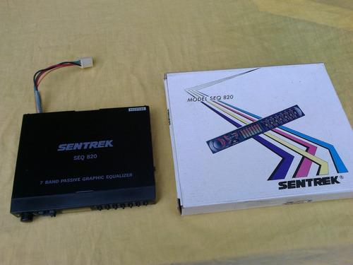 ecualizador sentrek seq 820 para usar con amplificador