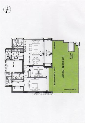 edificio a estrenar, p.baja 125 m + jardin