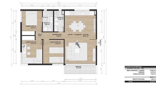 edificio mirador - 3 dormitorios oportunidad!!!