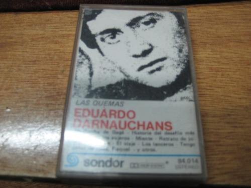 eduardo darnauchans - las quemas - cassete - uruguay