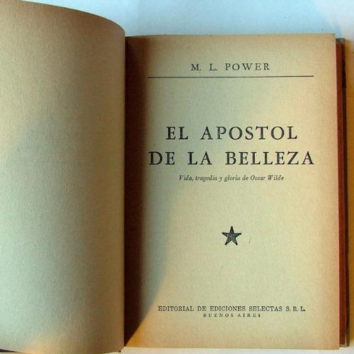 el apostol de la belleza, m. l. power