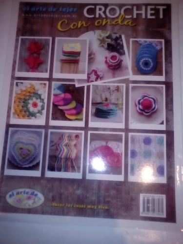 el arte de tejer crochet con onda 50 diseños nuevas tecnicas