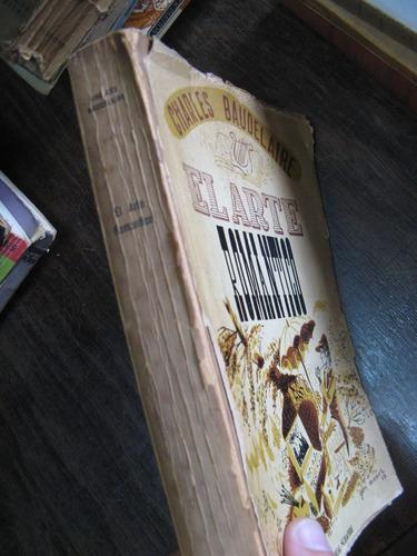 el arte romántico. baudelaire. 32 láminas, tapa suelta
