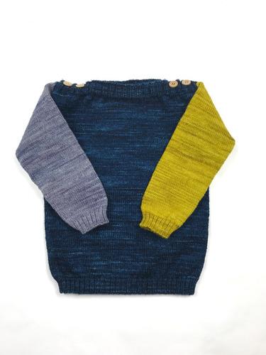 el bosque de robles - sweater de lana merino