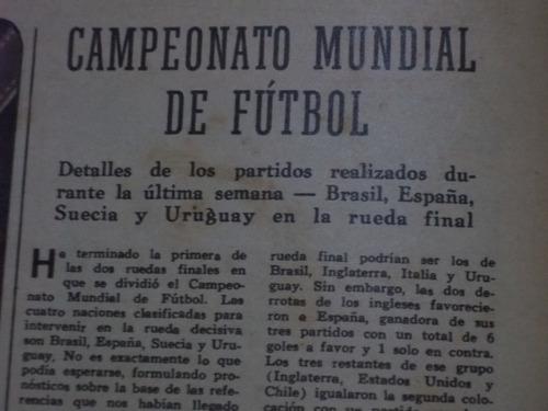 el grafico 1950 mundial uruguay