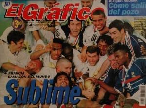 el grafico francia 1998