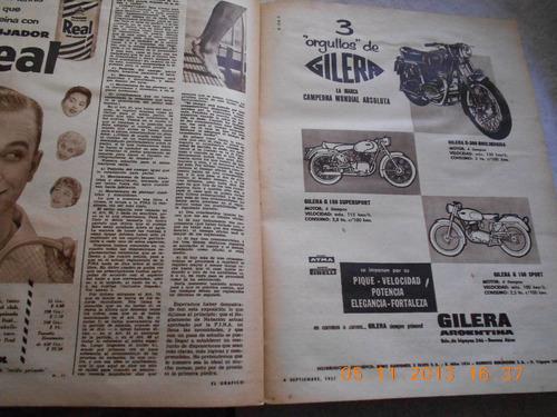 el grafico  n° 1982 de septiembre del año 1957