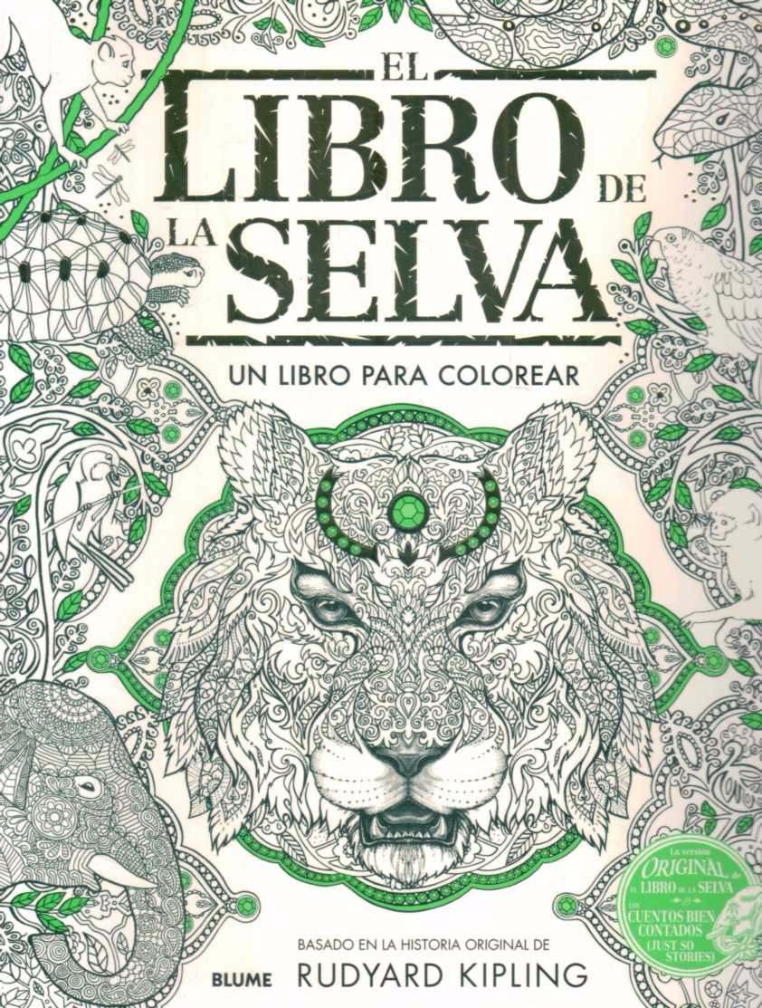 El Libro De La Selva Para Colorear