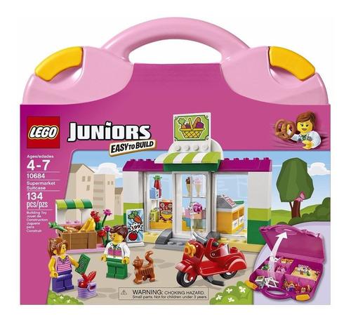 el maletín supermercado y tienda lego juniors - envío gratis