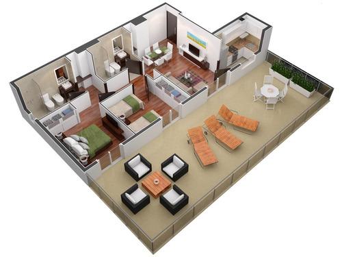 el mejor lugar para invertir. 57 apartamentos premium, mono ambientes, 1 y 2 dormitorios a metros de punta carretas