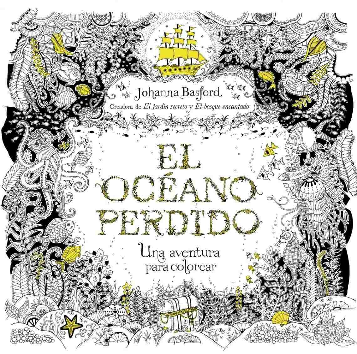 El Océano Perdido. Una Aventura Para Colorear - $ 650,00 en Mercado ...