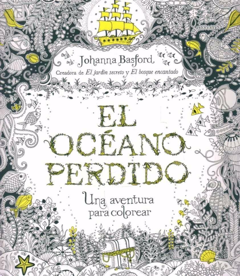 El Oceano Perdido: Una Aventura Para Colorear - $ 570,00 en Mercado ...
