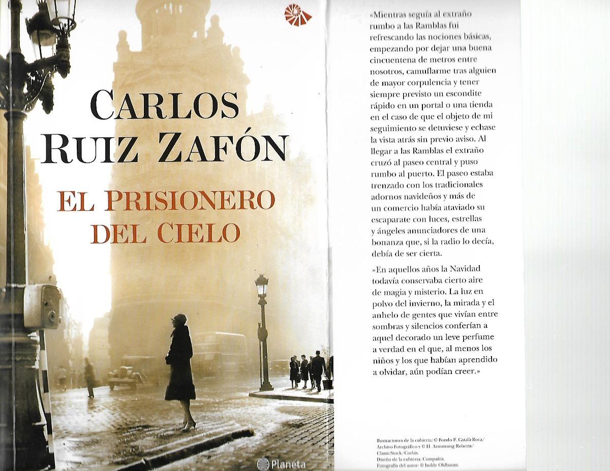 el prisionero del cielo - carlos ruiz zafon - novela. Cargando zoom.