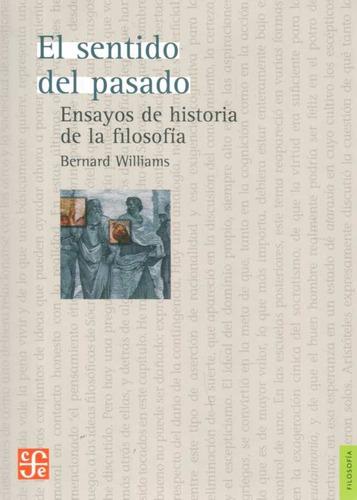 el sentido del pasado. ensayos de historia de la filosofía