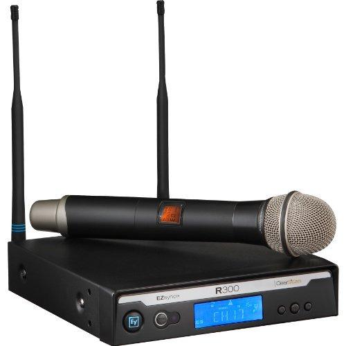 electro voice r300 hd b handheld wireless microphone