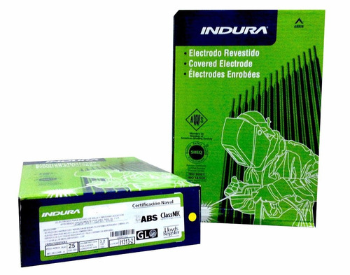 electrodo para recubrimiento weldmang 14 3.2mm x kg indura